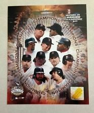 Boston Red Sox 2004 World Series Champions 8x10 Gold Limited Photo  # to 5000