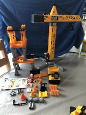 Mega Blocks CAT Crane Set
