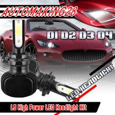 2x D1S D3S LED Headlight Kit for BMW 323 X5 X3 335 528 535 525 750 740 M3 M5