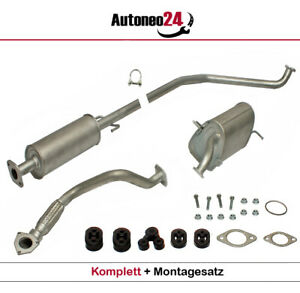 Auspuffanlage ab Kat Chevrolet Kalos/Aveo & Daewoo Kalos 1.4 1.4 16V Auspuff
