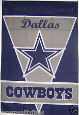"NEW 28""x40"" DALLAS COWBOYS FREMONT DIE BANNER FLAG au"