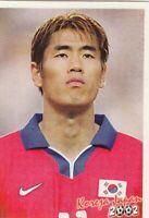 sticker football Seol Ki Hyeon Inchon FIFA WC South Korea Japan 2002 Bonart YUG