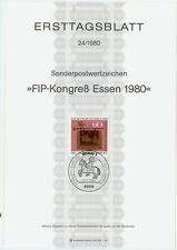 Germania ETB solo tag foglio 1980 FIP-Congresso MER. n. 1065