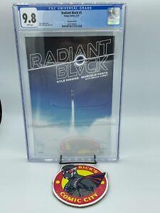 Radiant Black #1 Marcelo Costa B Variant CGC 9.8