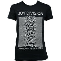 6041 UNKNOWN PLEASURES JOY DIVISION Ladies T-SHIRT grunge ian curtis rock punk