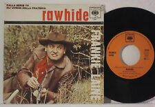 """FRANKIE LAINE : RAWHIDE / THE HANGING TREE    -    1966  7"""" ITALY"""