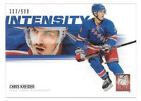 2012-13 Chris Kreider Anthology Elite Intensity Acetate Rookie337/500 - Rangers