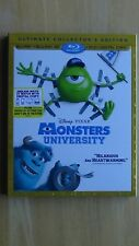 Disney*Pixar MONSTERS UNIVERSITY Blu-Ray+Blu-Ray 3D+DVD+Digital HD Sleeve NEW