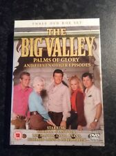 The Big Valley - Palms of Glory & 11 Episodes (3 disc set new and sealed)