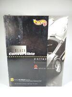 1995 Black Convertible Collection Target Exclusive 8 Hot Wheels Set NEW NIB