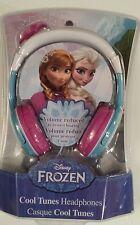 Frozen Volume Reduced Headphones Elsa and Anna - Disney Children Adjustable