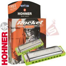 NEW HOHNER M2015BX Rocket Amp Progressive Key of Bb Harmonica MADE IN GERMANY