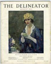 Delineator Magazine 1921 Woman Maxfield Parrish Ad Fashions Paper Dolls Daisy