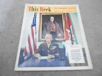 SEPT 3 1944 THIS WEEK newspaper - MILITARY  WWII - GEORGE MARSHALL