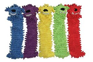 Multipet Unstuffed Lightweight Floppy Loofa  Colors Vary (Free Shipping in USA)