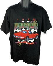 Corvette Stingray Men's L Shirt Hot August Nights Reno Sparks Vintage 98 Hanes