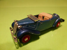 ELIGOR CITROEN TRACTION AVANT CABRIOLET 1956 1:43 - GOOD CONDITION