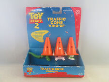 Toy Story 2 - Traffic Cone Wind-Up - Applause Disney Pixar Figure Rex Hamm Buzz
