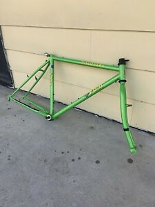 "Beautiful Green Apple Fuji Discovery MTB frame set-19""-Tange MTB-Vintage"