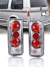 Set of Pair Chrome Taillights for 1985-2005 GMC Safari and Chevy Astro Van