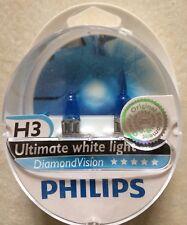 H3 Diamond Vision Voiture Ampoules Ultime feu Blanc Paire Ampoules