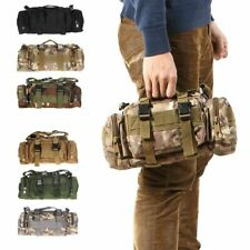 Waist Bag Waterproof Camo Traveling Hiking Camping Tactical Bags Pouch Storage