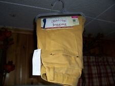 FADED GLORY LADIES JEGGINGS SIZE XS 0-2 GOLDEN BAR COLOR YELLOW CASUAL PANTS NEW