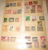 37 francobolli China Cina Mao stamps