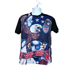 Striker Usa Soccer athletic T-Shirt small United States