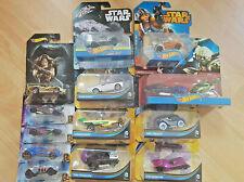 14 Hot Wheels Autos Comic Set OVP von Star Wars bis DC Batman Guadrians Galaxy 2