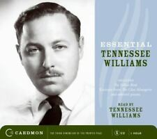 Essential Tennessee Williams read by Tennessee Williams (2007, CD, Caedmon) VGC