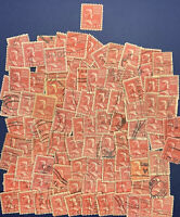 HUGE LOT OF 100+ ANDREW JOHNSON 17c U.S. STAMPS INCLUDING ONE MINT (ON TOP)