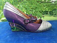 POETIC LICENCE Pretty Woman Purple Over Rainbow High Heels Shoes Sz 9.5 ??b8