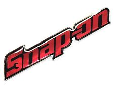 *1PC. SNAP-ON RACING TOOLS CLEAR RESIN COATED ON REFLECTIVE STICKER DECAL VINYL