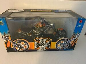 West Coast Choppers - Jesse James Sturgis Special 1:10 Motorcycle Muscle Machine