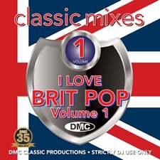 DMC I Love Britpop with Continuous Megamixes, Remixes & Two Trackers DJ CD Mixes