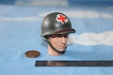 Dragon DID en sueños escala 1:6TH Segunda Guerra Mundial EE. UU. 77th casco de infantería Medic M1 (Metal)