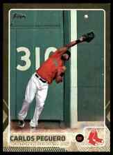 2015 Topps Update Gold Foil Carlos Peguero #/2015 Red Sox #US216