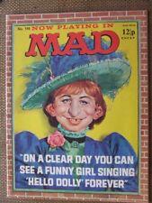 Mad Magazine No 114.  UK edn.