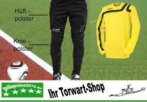 Torwart-Set: Alpas Torwarthose + Uhlsport Torwarttrikot GO SPORT gelb Gr. L XL