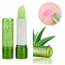 Aloe Vera Lipstick Lip Balm Color Mood Changing Long Lasting Moisturizing
