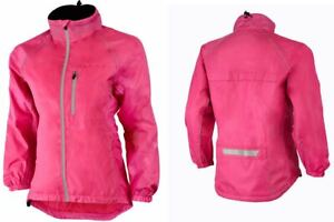 Women's Cycling/Running Rain Jacket High Visibility Windproof/Water Resistant