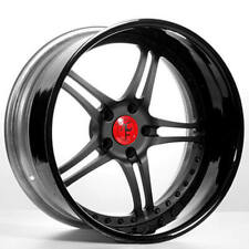 "4ea 20"" Staggered AC Forged Wheels Rims Split5 BK 3 pcs (S2)"