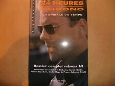 KIEFER SUTHERLAND 24 TV SERIES FRENCH BOOK SERIES 1 to 3 NEW