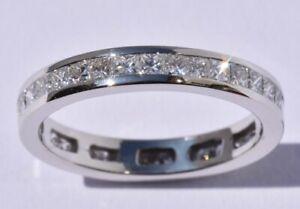 Platinum and Diamond Full Eternity Ring