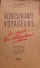REPRESENTANTS VOYAGEURS - VOS DROITS , VOS OBLIGATIONS -  PAUL MANGIN