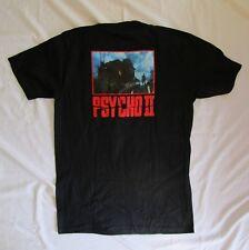 NEW Psycho II Norman Bates Black T-Shirt Size M - 100% Cotton