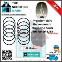 10x Premium Replament BSA Magazine Seal Part No. 16-5369 0.177 & 0.22 All Models