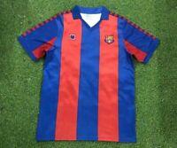 1982-84 Barcelona Home Retro Soccer Jersey