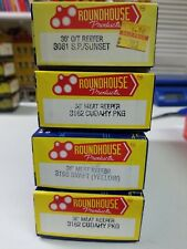 Ho Scale Roundhouse O/T Reefers Lot of 4 Kit # 3081;#3282(2);#3196